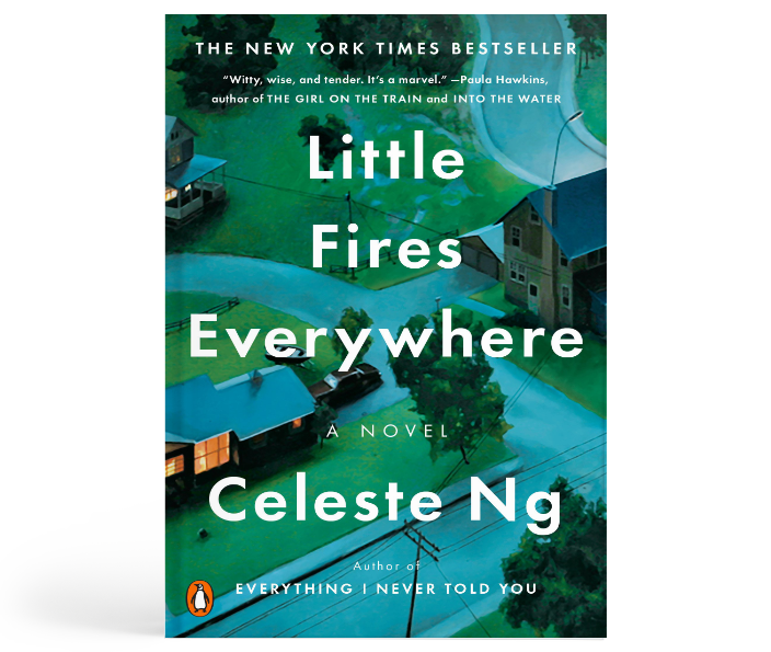 LITTLE FIRES EVERYWHERE : Celeste Ng